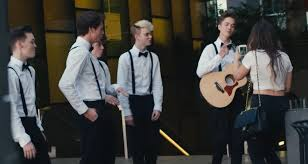 Hit The Floor Logan - why don u0027t we serenades strangers in music video directed by logan
