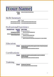 Free Printable Blank Resume Forms Fill In Resumes Template
