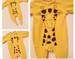 Giraffe Halloween Costume Baby Baby Giraffe Costume Etsy