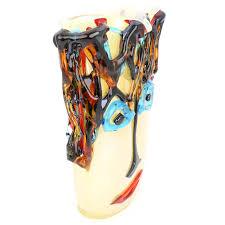 Vase Tall Murano Glass Vases Murano Glass Picasso Head Vase Tall
