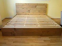 Bed Frames With Headboard Diy Simple Bed Frame Bedrooms Apartments And Room