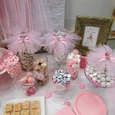 tutu baby shower decorations tables sweet designs
