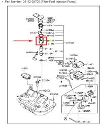 hyundai accent fuel filter i can not find a fuel filter on my hyundai accent 2004 remove