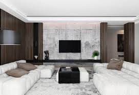 stylish living rooms living room wood and concrete design 40 stylish living rooms that