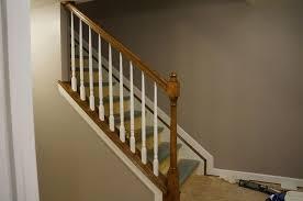 Basement Stairs Design Stair Railing Ideas Basement Best House Design Best Stair Deck