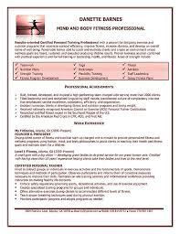 Teacher Job Description Resume by Personal Trainer Job Description Resume Recentresumes Com