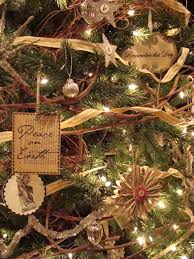 french country christmas tree decorations photos decorating