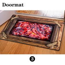 Funny Area Rugs Hugsidea Funny Charcoal Home Floor Carpet Creative 3d Printing