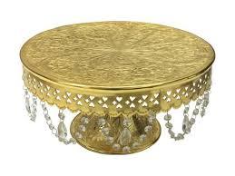 Aluminum Pedestal Cake Stands Pedestal Aluminum Gold
