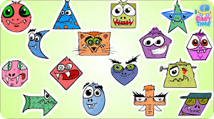 halloween shape shapes learning for kids shapes song scary