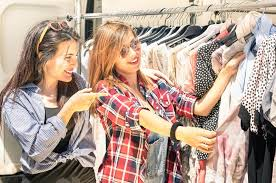 clothes shop to shop for the best vintage clothes
