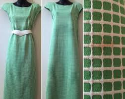 Kelly Green Maxi Dress Kelly Green Dress Etsy