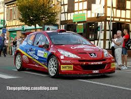 france peugeot peugeot 207 s2000 muller leneveu rallye de france 2011 the
