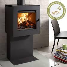 Pedestal Wood Burning Stoves Westfire Danish Made Quality Wood Burning Stoves From Stove Lounge