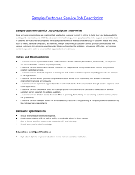Best Resume Customer Service Representative by Resume Templates For Customer Service Jobs Free Resume Example