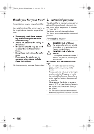 intended purpose silvercrest sle 420 a1 user manual page 6