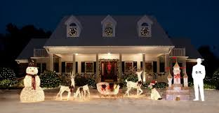 Christmas Decor With Deer by Brilliant Decoration Home Depot Outdoor Christmas Decorations