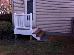 outdoor composite deck railing types of deck railings metal deck