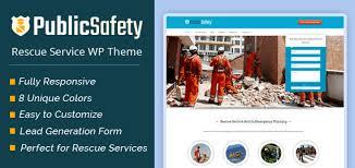 publicsafety rescue service wordpress theme u0026 template inkthemes