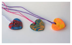 kid valentines simple kid made valentines day necklaces