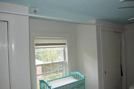 Next Nursery Curtains by Curtain Rod In The Nursery A Farmhouse Reborn