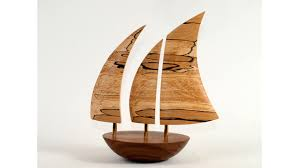 small wooden sculptures small galway balancing boats wooden sculptures handcrafted