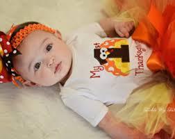 baby thanksgiving etsy