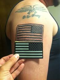 my husband went in there last week to get an american flag tattoo