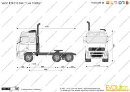 volvo truck pictures free the blueprints com vector drawing volvo fh 610 6x4 truck tractor