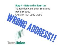 trans union credit bureau credit bureau dispute mailing addresses updated 2015