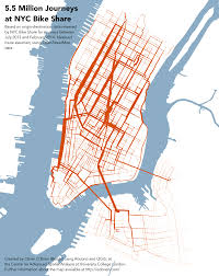 Nyc Bike Map Using Nyc Citi Bike Data To Help Bike Enthusiasts Find Their Mate
