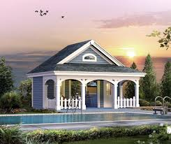 poolhouse plan familyhomeplans click here see even larger picture poolhouse plan