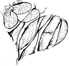 drawn broken heart coloring pencil color drawn