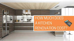 Kitchen Remodel Cost Estimate How Much Does A Kitchen Renovation Cost Free Calculator Youtube