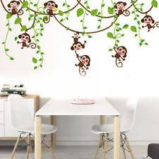 Monkey Decor For Nursery Baby Monkey Decor Ebay