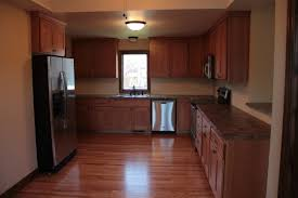 American Kitchen Cabinets by Quarter Sawn Oak Cabinets With Early American Stain Mission
