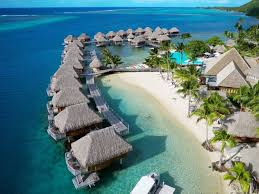 Paradise Pearl Bungalows Tahiti Vacation Packages Specials Dive Tahiti Blue
