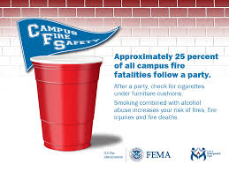 campus fire safety outreach materials