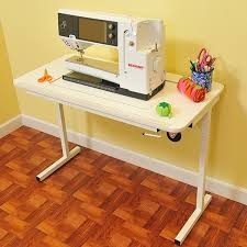 used sewing machine cabinet arrow gidget ii white sewing machine stowable furniture table