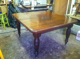 dining room table slides john mark power antiques conservator expanding dining room table