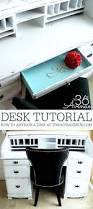 Designing A Desk by How To Paint Furniture Desk Makeover The 36th Avenue