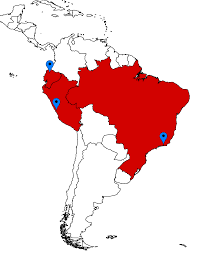 Latin And South America Map by 2016 Latin America College Fair Tour Office Of Admissions The