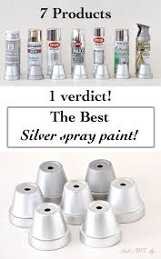 25 unique silver spray paint ideas on pinterest silver metallic