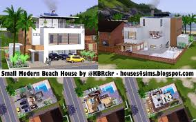 modern beach house houses 4 sims small modern beach house now 4 download lol