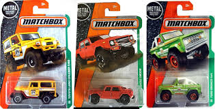 matchbox lamborghini matchbox lamborghini lm002 101 explorer set ford bronco 4x4 world