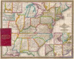 Map Of The United State File 1832 Mitchell U0027s Pocket Map Of The United States
