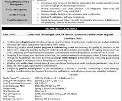 Java Developer Resume Template Luxury Idea Java Developer Resume Sample 1 Java Developer Resume