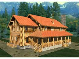 two story log homes pawnee point luxury log home plan 088d 0019 house plans and more