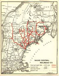 Map Of Portland Me by Railroad History Of Portland Maine Howlingpixel
