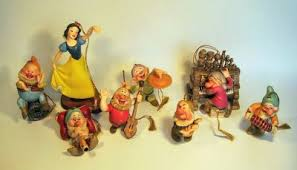snow white and the seven dwarfs ornament set from our walt disney